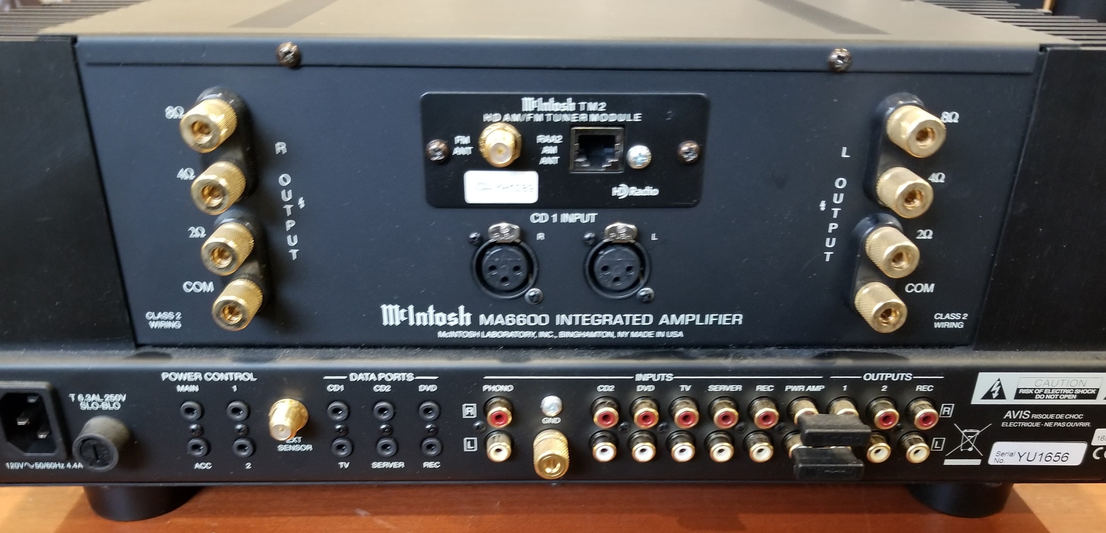 McIntosh 2 Channel Integrated Amplifier MA6600 - StereoLand